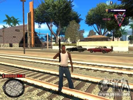 C-HUD Style para GTA San Andreas