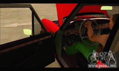 Mercedes 300SEL Air para la visión correcta GTA San Andreas