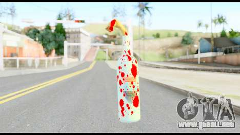 Molotov Cocktail with Blood para GTA San Andreas segunda pantalla