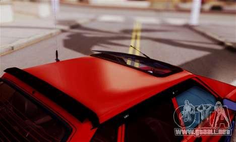 Lada 2109 para visión interna GTA San Andreas