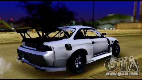 Nissan Silvia S14 DC Hunter para GTA San Andreas left