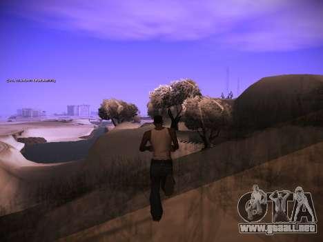 ENB v.14 para GTA San Andreas sucesivamente de pantalla