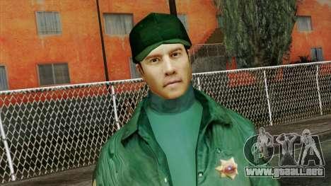 Police Skin 1 para GTA San Andreas tercera pantalla