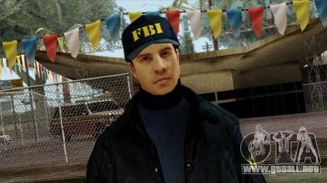 Police Skin 3 para GTA San Andreas tercera pantalla