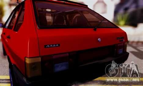 Lada 2109 para la visión correcta GTA San Andreas