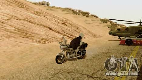 La posibilidad de GTA V para jugar para los anim para GTA San Andreas tercera pantalla