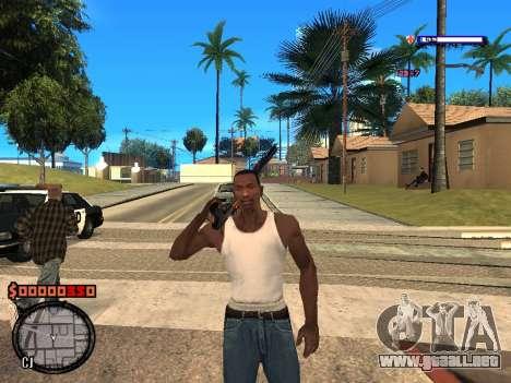 C-HUD Style para GTA San Andreas segunda pantalla