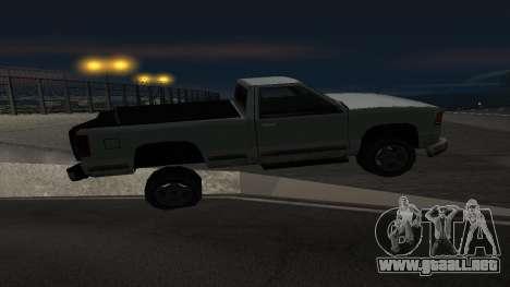 La nueva física de las máquinas para GTA San Andreas tercera pantalla