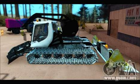 PistenBully 600S para la visión correcta GTA San Andreas