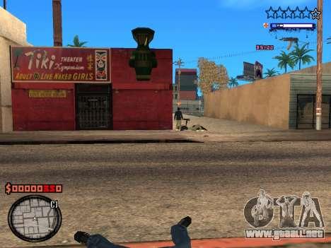 C-HUD Style para GTA San Andreas sucesivamente de pantalla