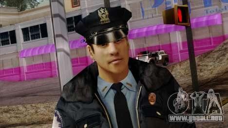 Police Skin 6 para GTA San Andreas tercera pantalla