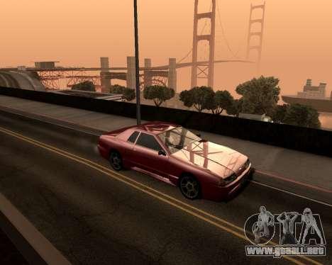 Artificial ENB para PC de bajos para GTA San Andreas tercera pantalla
