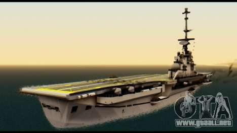 Colossus Aircraft Carrier para GTA San Andreas left