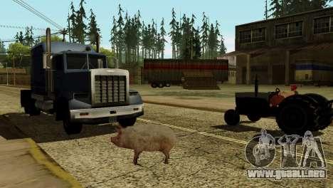 La posibilidad de GTA V para jugar para los anim para GTA San Andreas sexta pantalla
