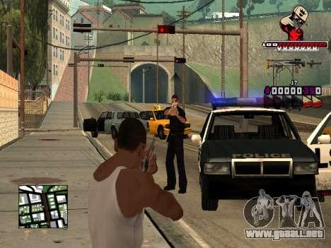 C-HUD SWAG para GTA San Andreas quinta pantalla