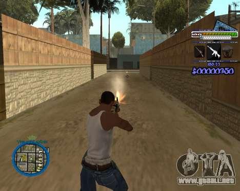 C-HUD by Rifa para GTA San Andreas sucesivamente de pantalla