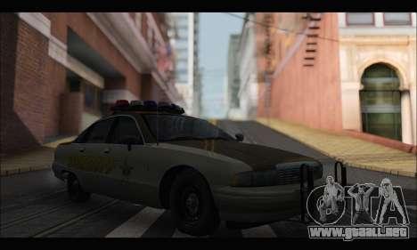 Chevrolet Caprice 1991-1993 RCSD para GTA San Andreas