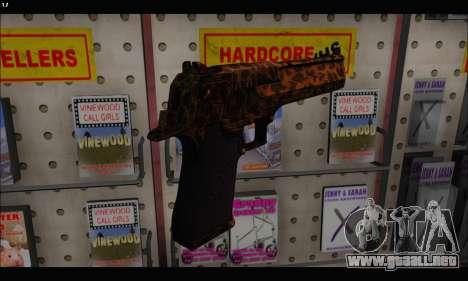 Leopardo Deagle para GTA San Andreas tercera pantalla