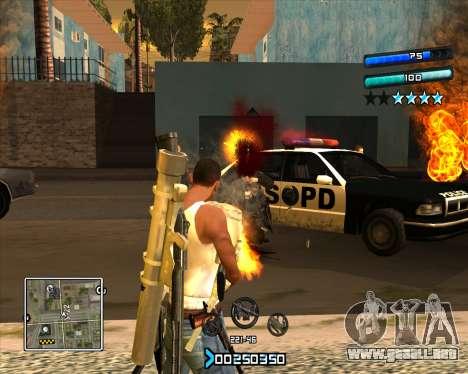 C-HUD Super Cull para GTA San Andreas segunda pantalla