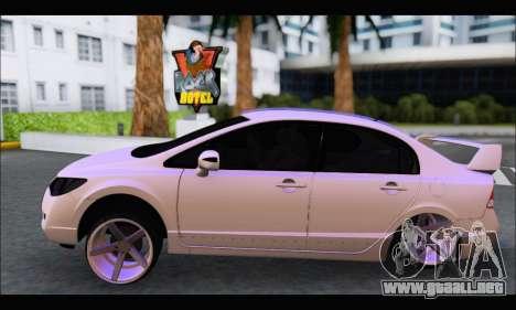 Honda Civic Korea Style para GTA San Andreas left