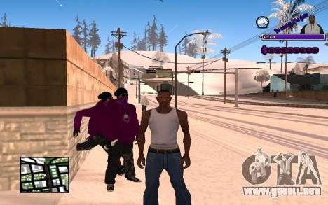 С-HUD Ghetto para GTA San Andreas