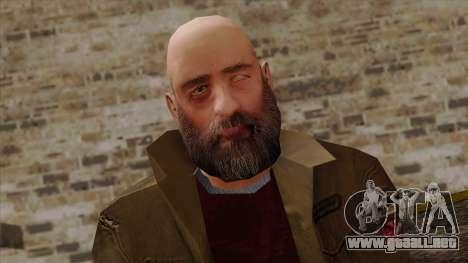 GTA 4 Skin 62 para GTA San Andreas tercera pantalla