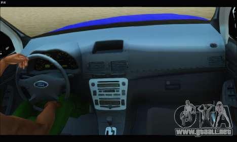 Ford Ranger P.B.A 2015 Text2 para la visión correcta GTA San Andreas