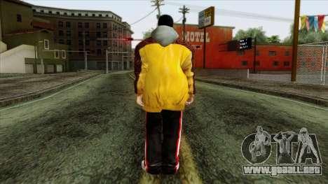 GTA 4 Skin 31 para GTA San Andreas segunda pantalla