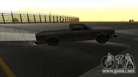 La nueva física de las máquinas para GTA San Andreas quinta pantalla