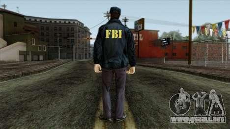 Police Skin 3 para GTA San Andreas segunda pantalla