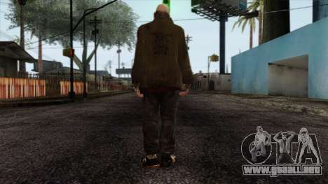 GTA 4 Skin 62 para GTA San Andreas segunda pantalla