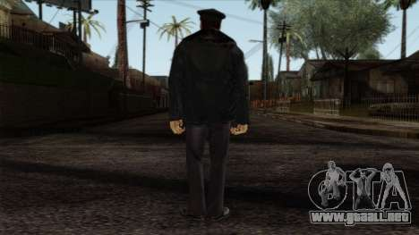Police Skin 6 para GTA San Andreas segunda pantalla