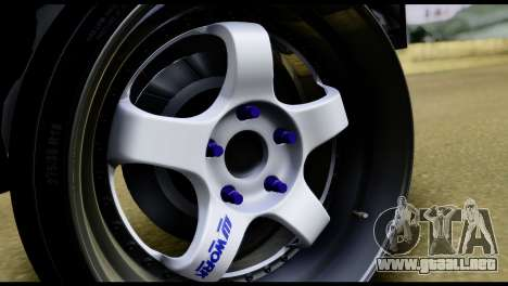 Nissan Silvia S14 DC Hunter para la visión correcta GTA San Andreas