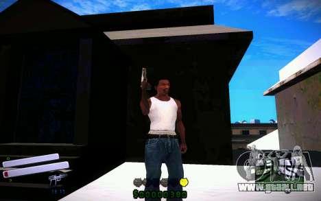C-HUD v4.0 para GTA San Andreas tercera pantalla