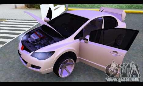 Honda Civic Korea Style para la visión correcta GTA San Andreas