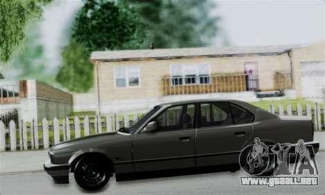 BMW 525 E34 Rims para GTA San Andreas vista hacia atrás