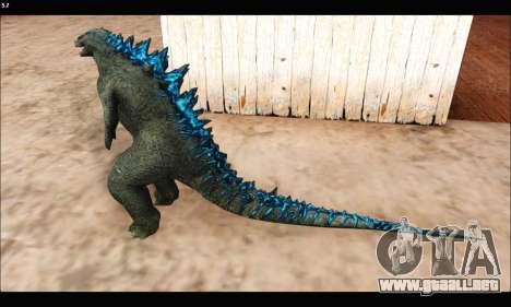 Babyzilla 2014 (Godzilla) para GTA San Andreas tercera pantalla