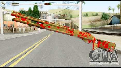 Combat Shotgun with Blood para GTA San Andreas