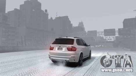 BMW X5M 2011 para GTA 4 left