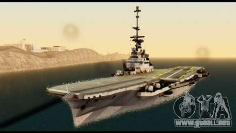 Colossus Aircraft Carrier para GTA San Andreas