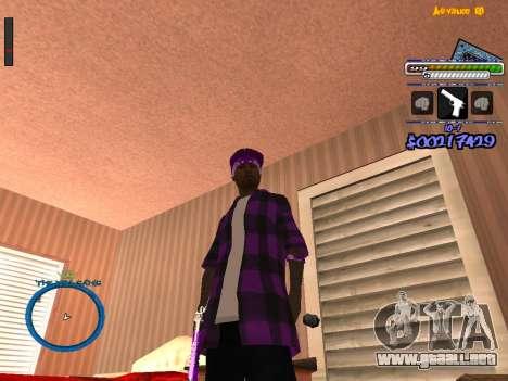 C-HUD by Rifa para GTA San Andreas segunda pantalla