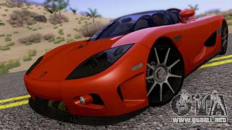 Koenigsegg CCX 2006 Road Version para GTA San Andreas left