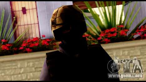Counter Strike Skin 5 para GTA San Andreas tercera pantalla