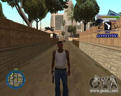 C-HUD by Rifa para GTA San Andreas tercera pantalla