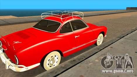 Volkswagen Karmann Ghia para GTA San Andreas