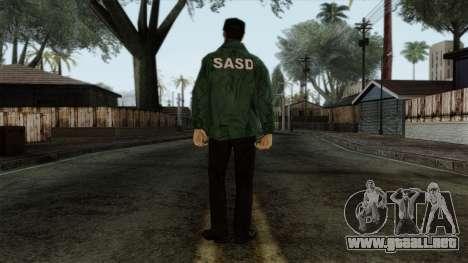 Police Skin 1 para GTA San Andreas segunda pantalla