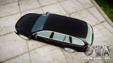 BMW 525d F11 2014 Facelift Civilian para GTA 4 visión correcta
