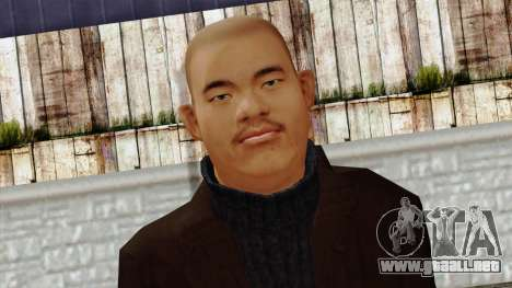 GTA 4 Skin 92 para GTA San Andreas tercera pantalla