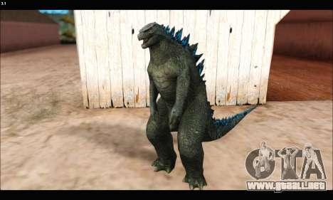 Babyzilla 2014 (Godzilla) para GTA San Andreas segunda pantalla