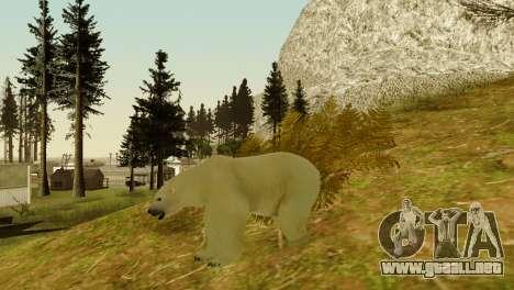 La posibilidad de GTA V para jugar para los anim para GTA San Andreas octavo de pantalla